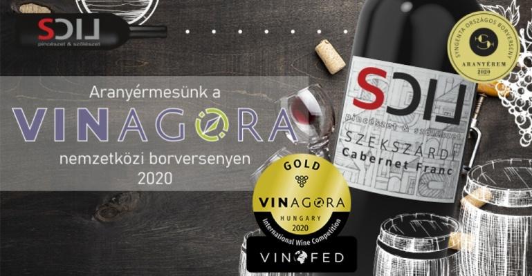 Szekszárdi Lics Bor lett a VinAgora egyik aranyérmese