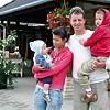 Balázs családjával