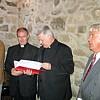 Felszentelésen, Spányi Antal püspök, Lics Lászlő